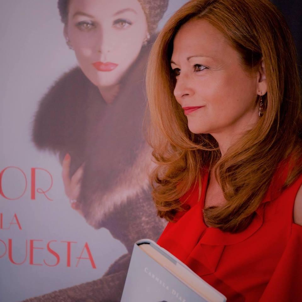 Atrapalibros, Amor es la respuesta Carmela Díaz
