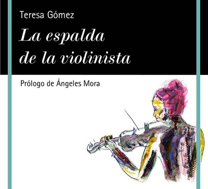 La espalda de la violinista Teresa Gomez