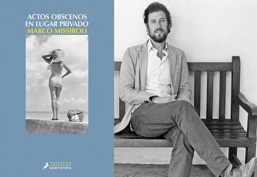 Actos obscenos en lugar privado de Marco Missiroli