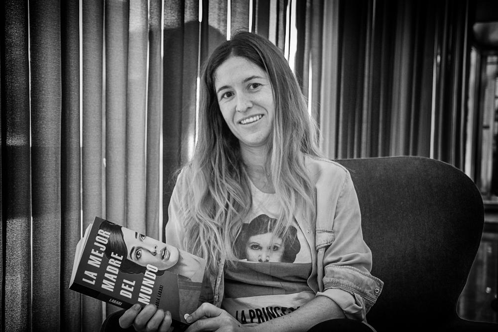 Nuria Labari, autora de La mejor madre del mundo